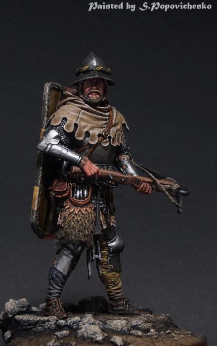 European crossbowman end of 14c.